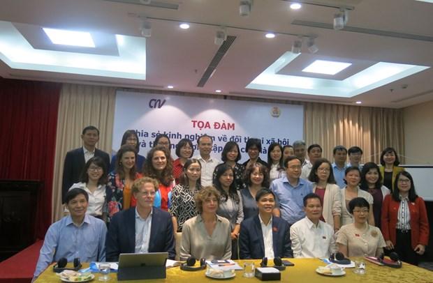 De la promotion du dialogue social et de la negociation collective hinh anh 1