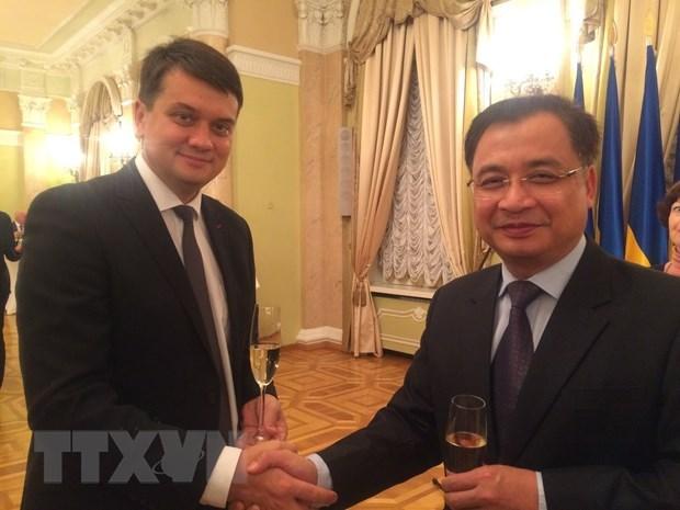 Vietnam et Ukraine renforcent leur cooperation legislative hinh anh 1