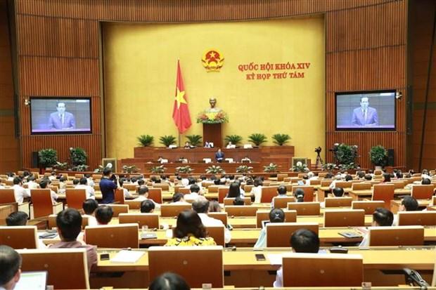 L'Assemblee nationale discute du projet du Code du travail (amende) hinh anh 1