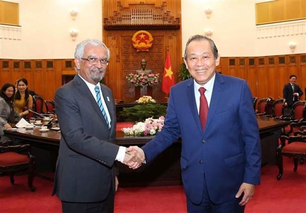L'ONU est une priorite dans la politique exterieure du Vietnam hinh anh 1