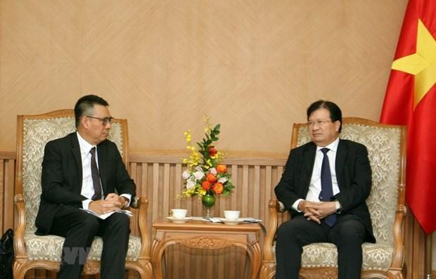 Un vice-PM exhorte SCG a accelerer le projet petrochimique du Sud hinh anh 1