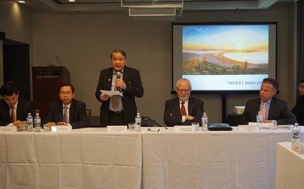 Binh Dinh cherche a renforcer ses liens economiques avec les Etats-Unis hinh anh 1
