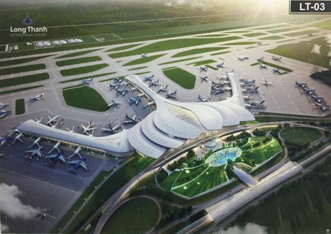 L'aeroport de Long Thanh, futur centre de transit aerien international hinh anh 1