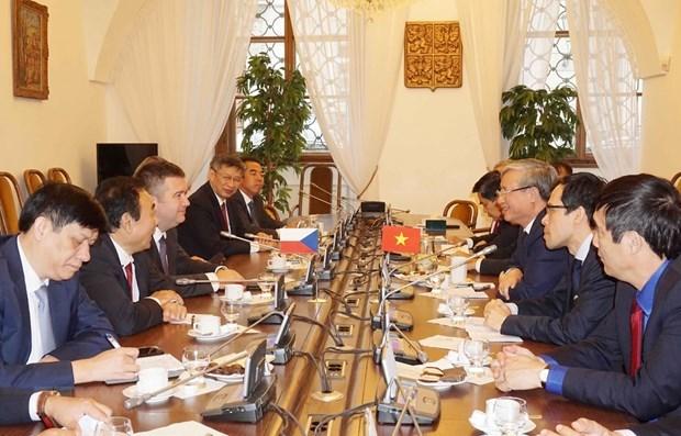 Le Vietnam, principal partenaire de la Republique tcheque en Asie du Sud-Est hinh anh 1