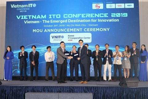 Vietnam ITO 2019 met en lumiere le potentiel de l'industrie informatique hinh anh 2