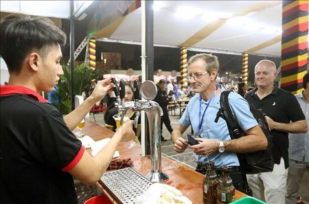 Le Festival de la biere belge en ebullition a Hai Phong hinh anh 1