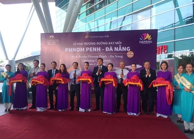 Angkor Air lance un Phnom Penh-Da Nang hinh anh 1