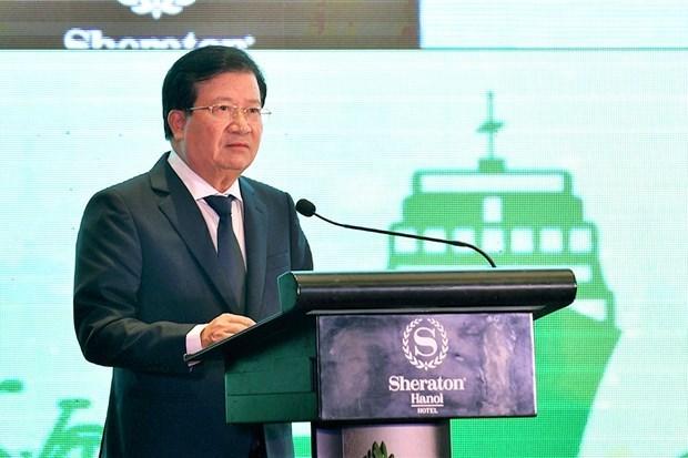 Transports : Le vice-PM Trinh Dinh Dung soutient la Declaration de Hanoi hinh anh 1