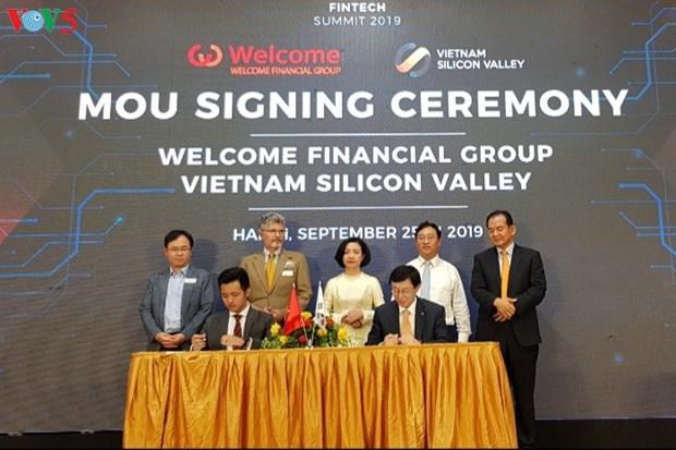 Le projet Fintech de Vietnam Silicon Valley hinh anh 1