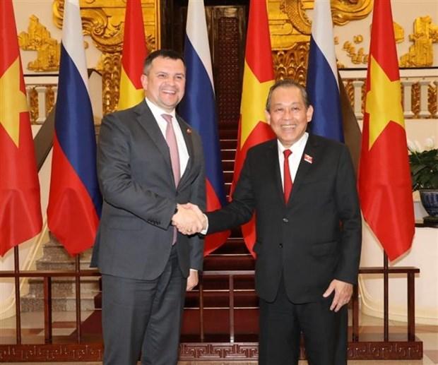 Renforcement de la cooperation Vietnam-Russie hinh anh 1