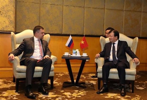Dialogue d'entreprises Vietnam-Russie 2019 a Hanoi hinh anh 1
