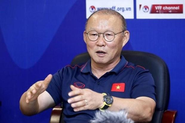 AFF: Park Hang-seo nomme meilleur entraineur en 2019 hinh anh 1