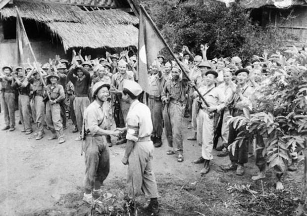 Le secretaire general et president lao felicite le Vietnam hinh anh 1