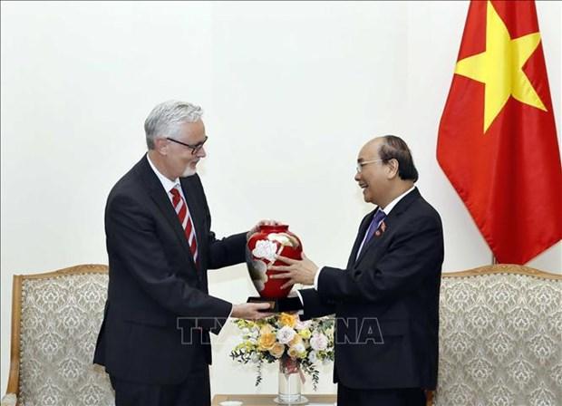 Le Vietnam estime le partenariat strategique avec l'Allemagne hinh anh 1