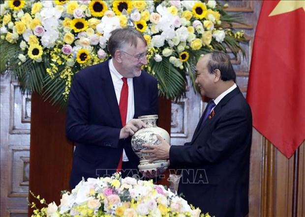 Le PM recoit le president de la Commission du commerce international du PE hinh anh 1