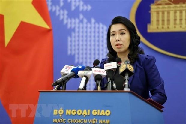 Camion charnier : la porte-parole du ministere des Affaires etrangeres exprime sa grande tristesse hinh anh 1
