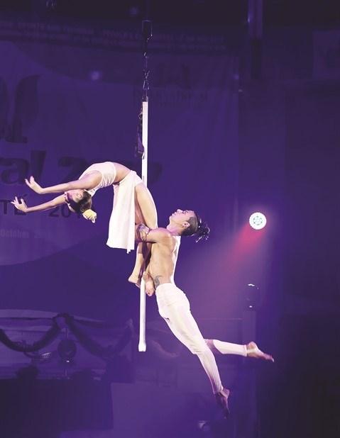 Festival international du cirque 2019: De nouveaux talents vietnamiens sous le chapiteau hinh anh 2