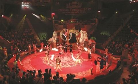 Festival international du cirque 2019: De nouveaux talents vietnamiens sous le chapiteau hinh anh 1