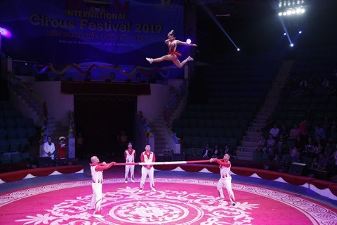 Festival international du cirque 2019: De nouveaux talents vietnamiens sous le chapiteau hinh anh 3