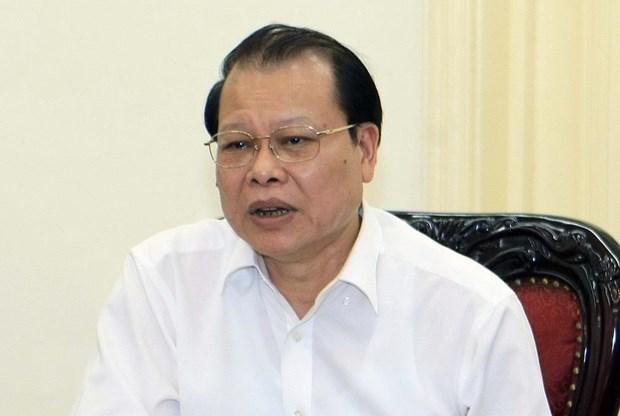 Le PM sanctionne l'ancien vice-Premier ministre Vu Van Ninh hinh anh 1