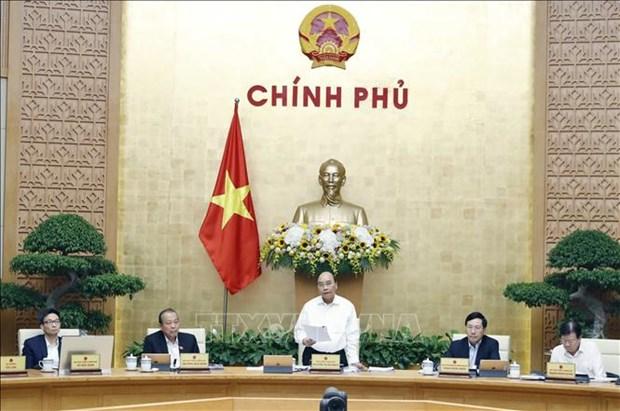 Les resultats positifs de l'economie nationale creent la base d'une croissance durable, selon le PM hinh anh 1