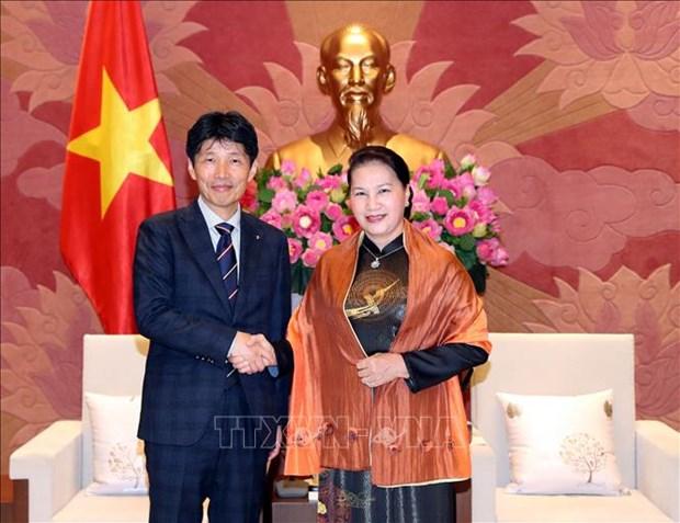 Promotion de la cooperation entre Gunma (Japon) et les localites vietnamiennes hinh anh 1