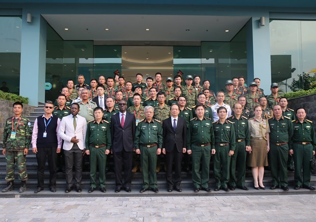 Le 2e cours de formation pour les casques bleus s'ouvre a Hanoi hinh anh 1