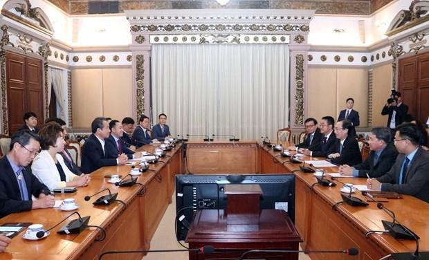 Ho Chi Minh-Ville renforce sa cooperation avec la ville sud-coreenne de Gymcheon hinh anh 1