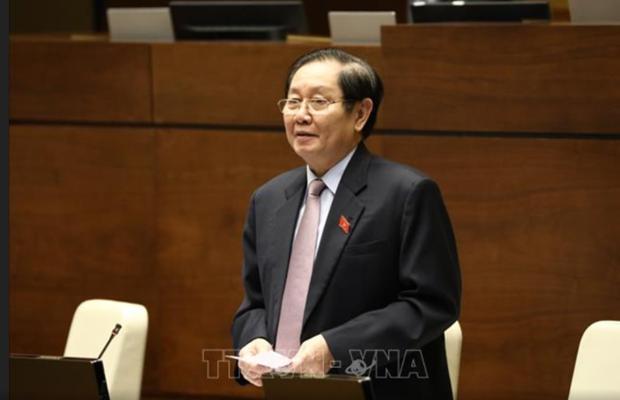 Assemblee nationale: le ministre de l'Interieur interroge hinh anh 1