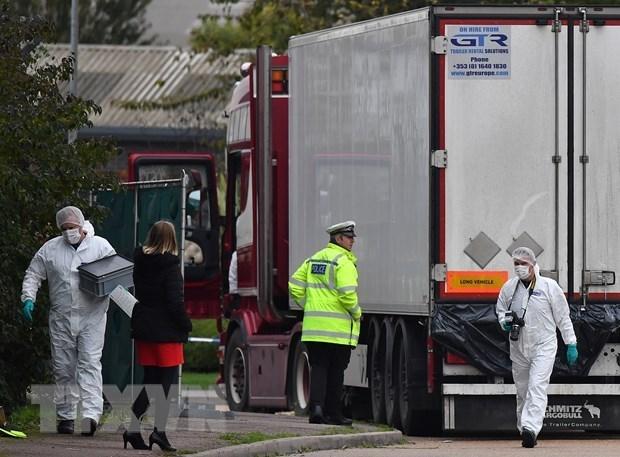 Le ministere de la Securite publique annonce la liste des mortes dans un camion frigorifique au Royaume-Uni hinh anh 1