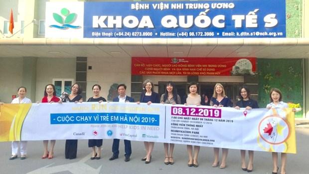 L'ambassadrice du Canada participera a la course pour les enfants de Hanoi en 2019 hinh anh 1
