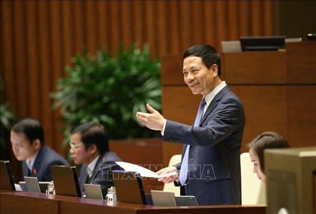 AN: le ministre de l'Information et de la Communication monte au creneau hinh anh 1