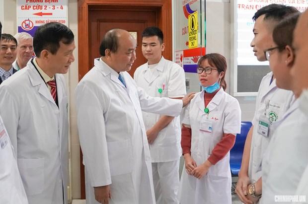 Hanoi: lancement d'un plan d'emulation dans le secteur de la sante hinh anh 1