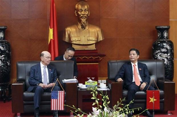 L'edification de la confiance strategique pousse les liens Vietnam-Etats-Unis hinh anh 1