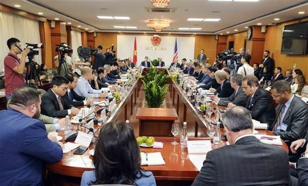 L'edification de la confiance strategique pousse les liens Vietnam-Etats-Unis hinh anh 2