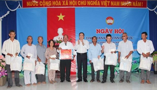 La Fete de grande solidarite nationale celebree dans des localites hinh anh 1