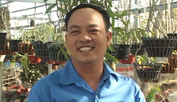 Cultivateur d'orchidees a Ninh Thuan et fier de l'etre hinh anh 2