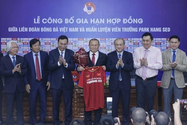Football: Park Hang-seo va entrainer au Vietnam jusqu'en 2022 hinh anh 1