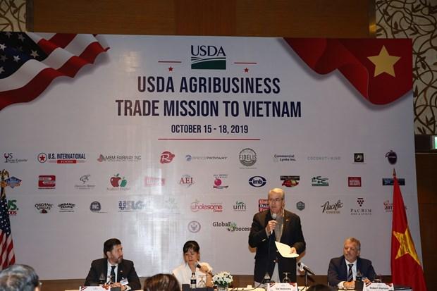 Les Etats-Unis veulent exporter plus de produits agricoles au Vietnam hinh anh 1