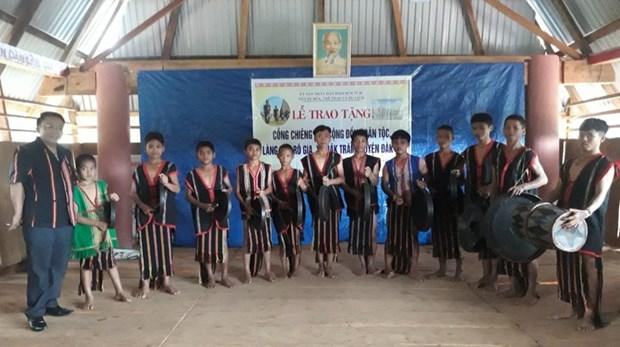 Kon Tum s'emploie a preserver ses patrimoines culturels hinh anh 2