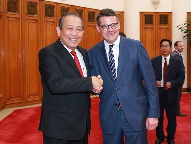 La Hesse joue un role crucial dans la promotion des liens Vietnam-Allemagne hinh anh 1
