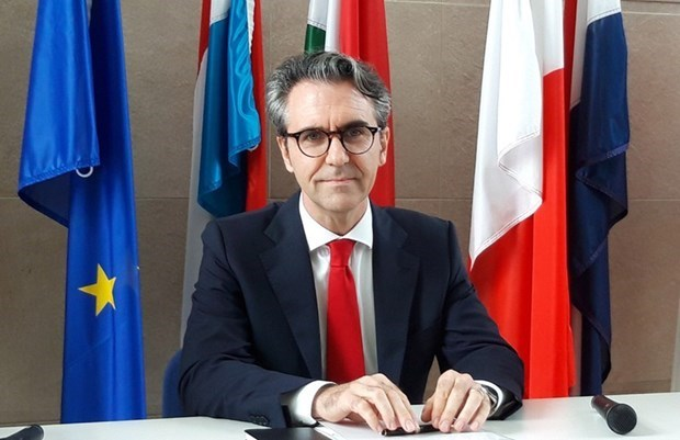 Le nouvel ambassadeur de l'UE decrit le Vietnam comme partenaire potentiel hinh anh 1