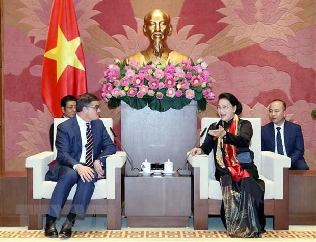 """Le Vietnam considere l'Allemagne comme un """"partenaire important"""" hinh anh 1"""