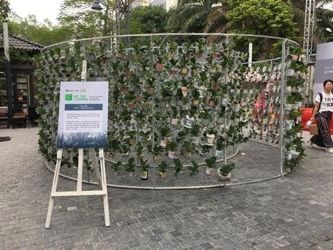 L'art ecologique prend ses quartiers a Hanoi hinh anh 3