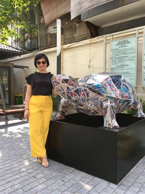 L'art ecologique prend ses quartiers a Hanoi hinh anh 1