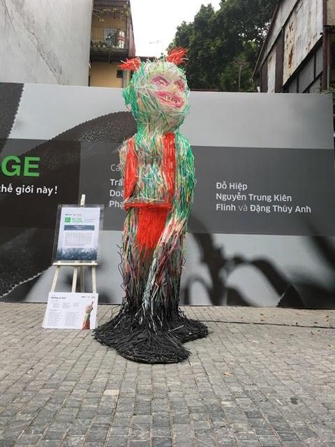 L'art ecologique prend ses quartiers a Hanoi hinh anh 2
