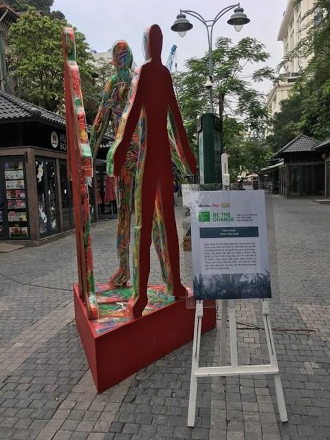 L'art ecologique prend ses quartiers a Hanoi hinh anh 4