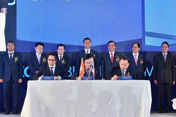 Vietnam et Republique de Coree visent 100 mds de dollars d'echanges en 2020 hinh anh 1