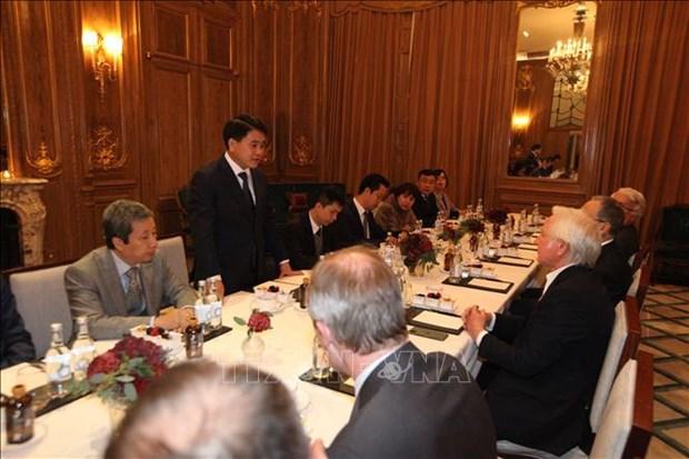 Une delegation de Hanoi en visite de travail en Israel et au Royaume-Uni hinh anh 1