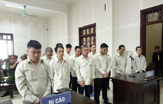 Vietnam : Cinq condamnes a mort pour trafic de drogue hinh anh 1